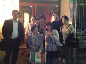 事務局メンバーの歓送迎会が行われました!!