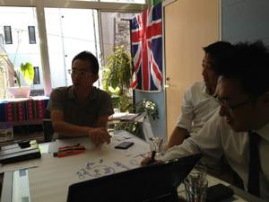第5期生ランダムネス市野さん 戦略会議が行われました。