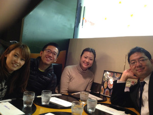 市野さん、毛受さん、長尾さんで戦略会議を行いました!