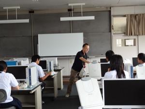 春日井商業高校にて特別授業を実施しました!