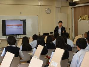 南陽高等学校にて特別授業を実施しました!