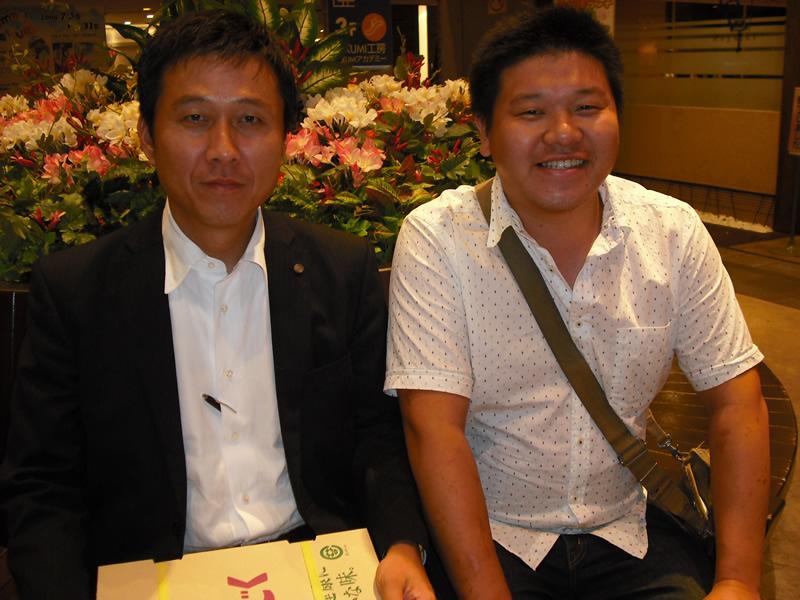 鈴木さん、ゼロスポーツ・中島社長に経営道を学ぶ。