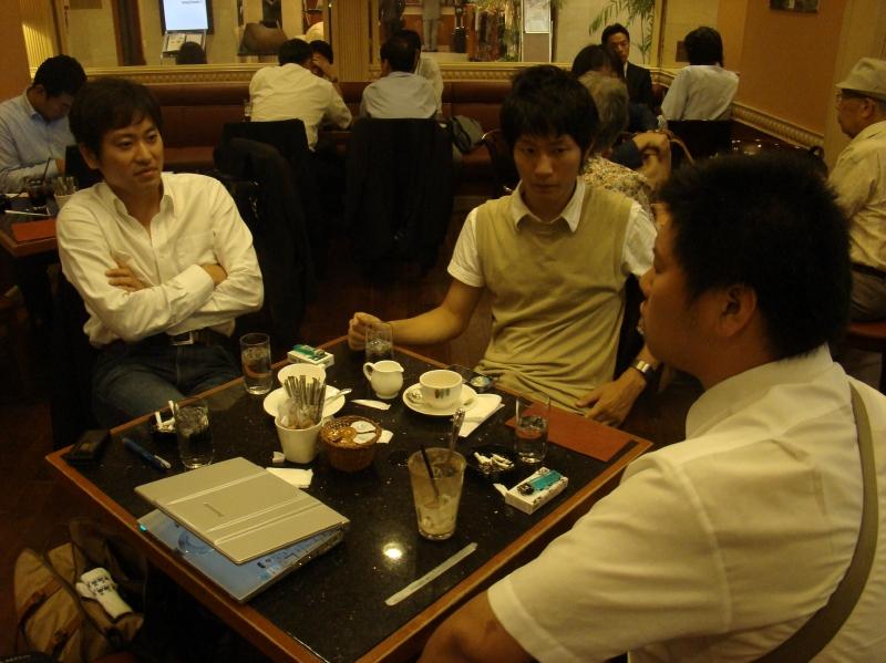 鈴木さん臨時ミーティング。