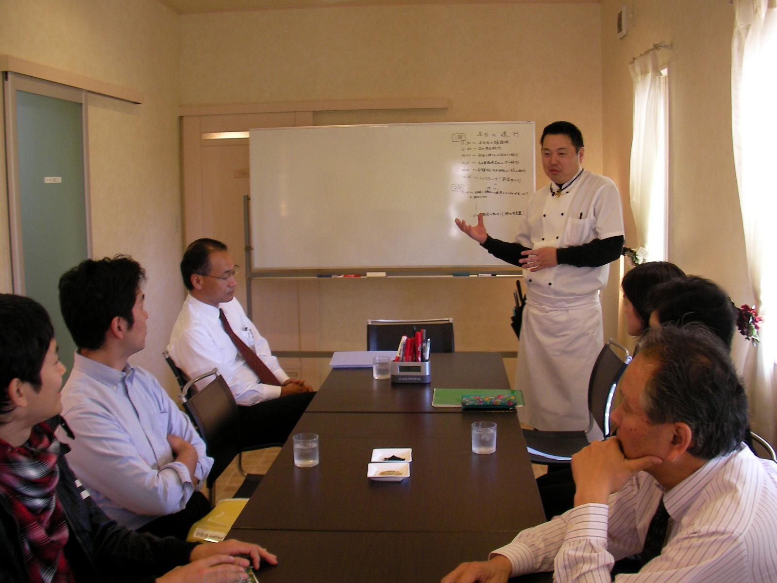 ブリアンブラン野田夫妻が、生産者と消費者をつなぐ会を開催!