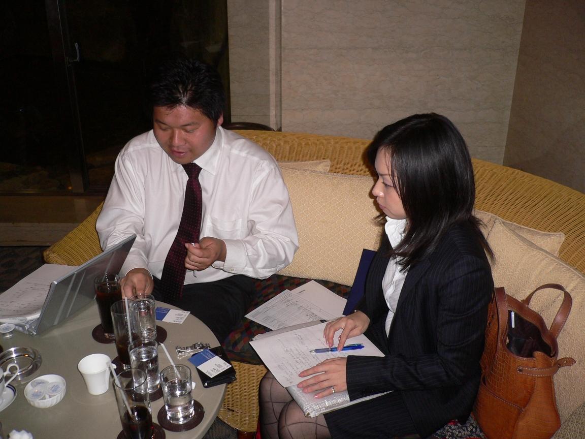 営業会議のため鈴木さん、東京へ。
