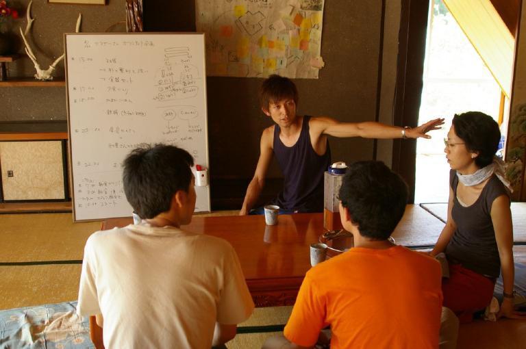ボランティア企画@こうじびら山の家