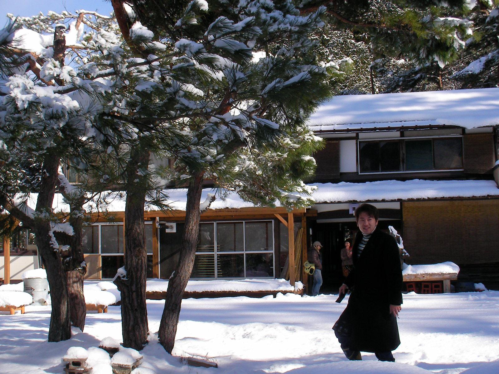 """告知!!""""冬のなりわい""""体験ツアー"""