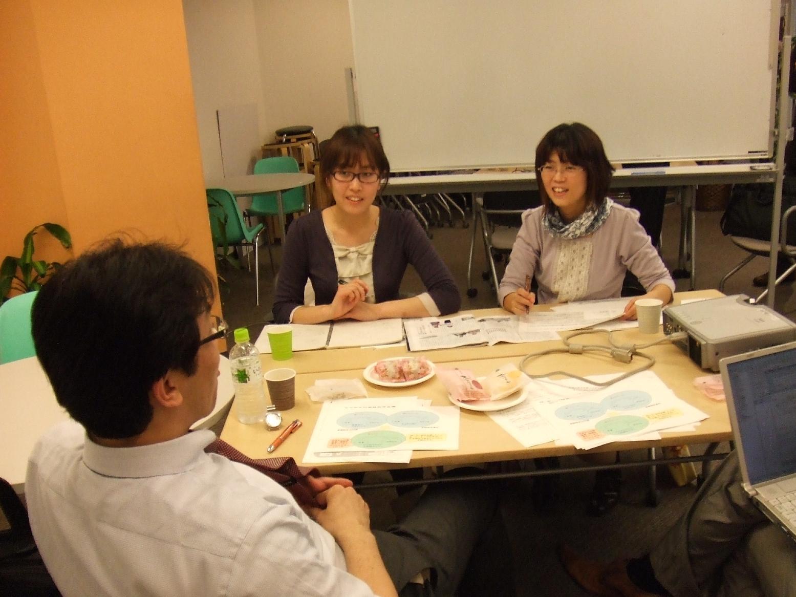 最終報告会直前!就労支援センターが戦略会議を行いました。
