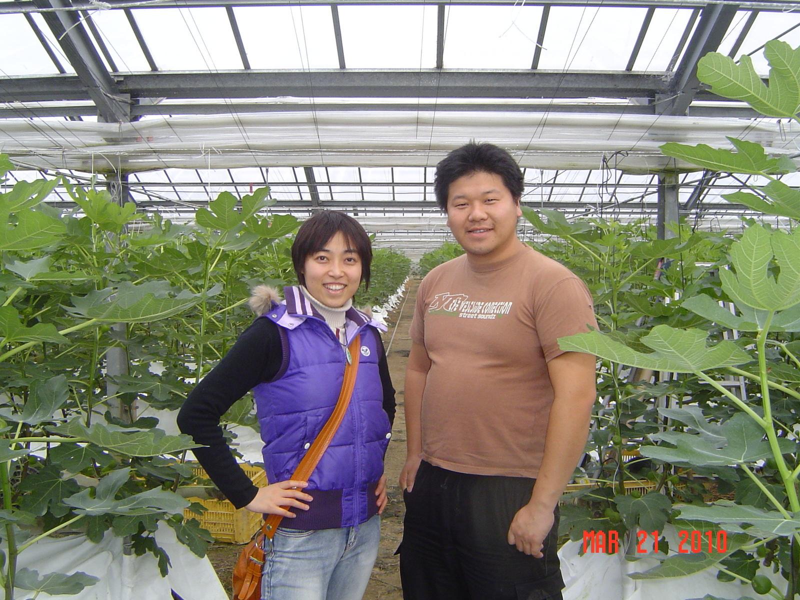 敬清さんが鈴木さんと黒野さんを訪問しました。